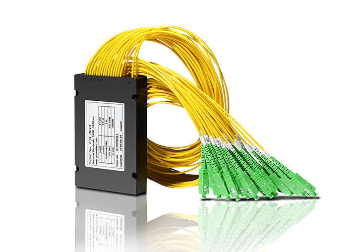China FTTH-Faser-Optikteiler 2x32 - SC-/APCkoppler PLC-Faser-Optikteiler fournisseur